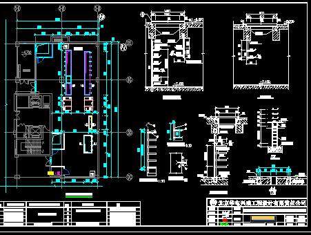 某商场配电室工程电气施工图