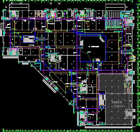 某大型商场强弱电工程电气施工图