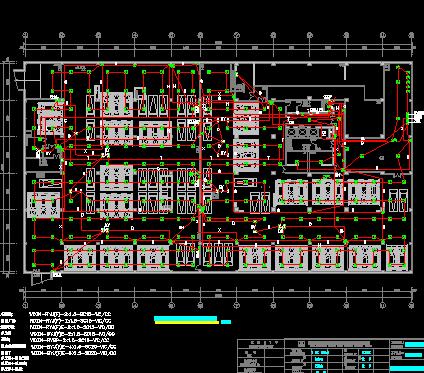 某大型商场建设全套施工图(含建筑、给排水、暖通、电气)