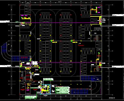 某商业综合楼建设电气施工设计图