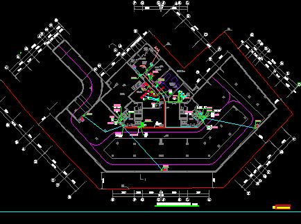 十八层商业住宅建筑电气工程施工设计图