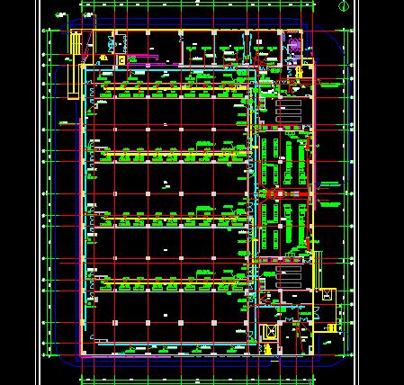 某四层数据中心建设电气系统图