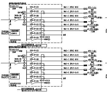 综合管廊项目电气工程施工设计图