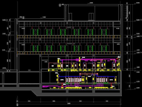 框架-剪力墙结构住宅及配套设施、商业金融项目电气施工图(照明、消防、动力)8