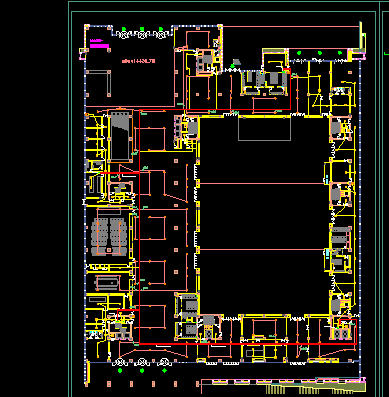 四层大型会议中心电气施工设计图(含电气节能)