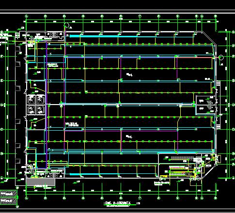 某物流仓库项目电气施工设计图(含PDF格式)