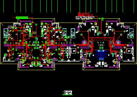 五层住宅楼电气工程设计施工图纸