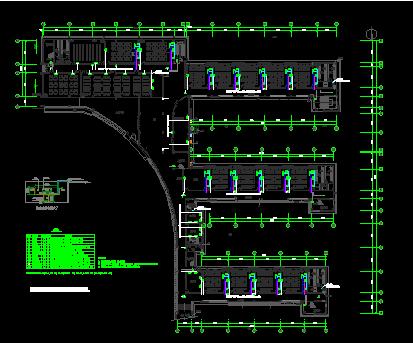 小学多层综合楼弱电工程施工设计图