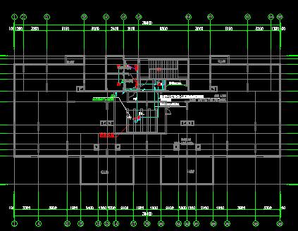 三十三层商业住宅楼及幼儿园弱电施工图纸