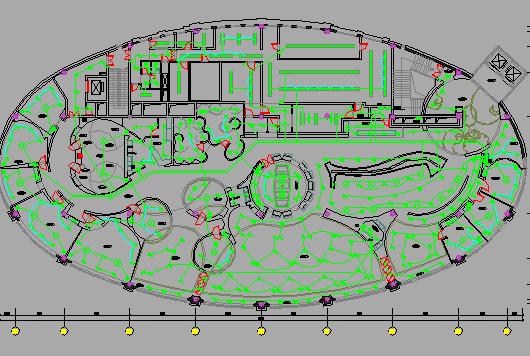 室内装饰亚博88app电气招标设计图(含电气、给排水、空调、消防,装饰及装饰效果图)