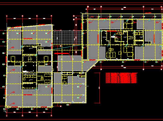 八层办公楼及地下室项目电气施工图纸(含精装修)