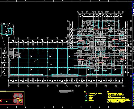三十一层住宅楼及地下室电气施工图(含消防)