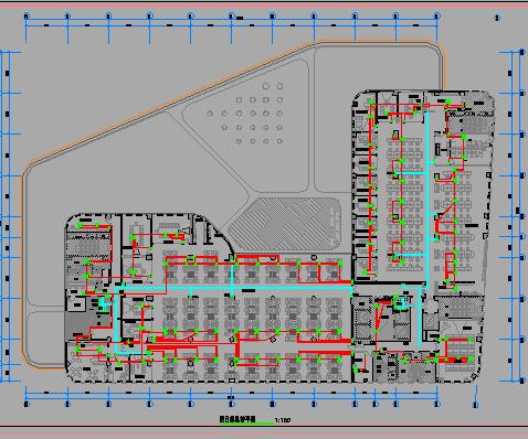 四层办公楼强弱电工程电气施工图纸