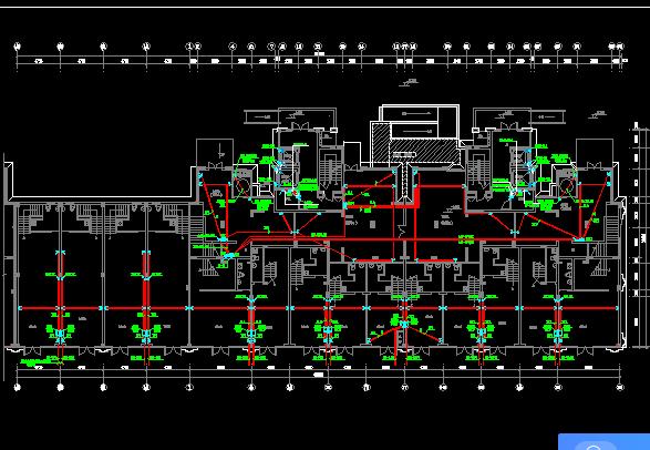 十八层层框剪结构住宅电气施工图纸