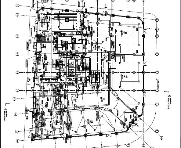 中央广场改建工程强弱电电气消防图纸(含PDF格式)