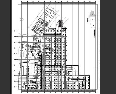 高层住宅项目及地下室电气施工图纸(PDF格式)