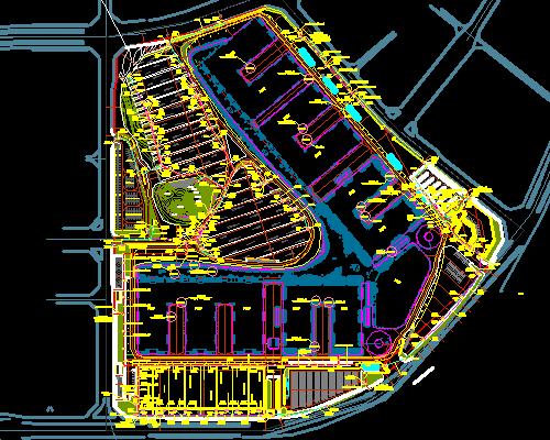 展览中心项目全套电气施工图(含景观)