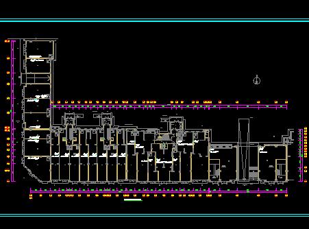 二十二层住宅及人防地下室电气施工图纸