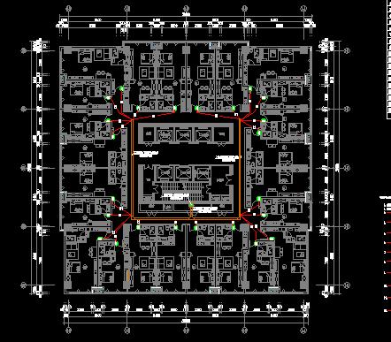 超大型综合商业综合体建筑弱电智能化设计图纸