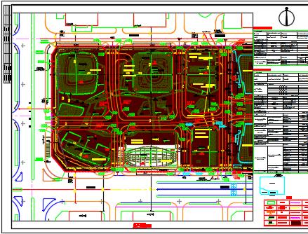 金融中心公寓楼项目电气施工图纸