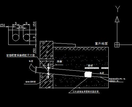 水电工程分项CAD图纸