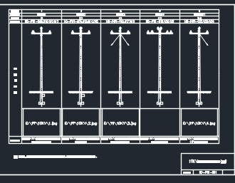 10kV配电线路设计施工图纸