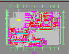 某酒店一层电气二次装修施工图