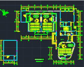住宅小区四层幼儿园电气施工图