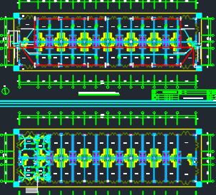 两层营业厅电气施工图