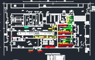 商业办公楼变电所项目及塔楼电气施工图