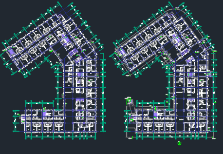 十一层住宅楼综合健康社区电气施工图