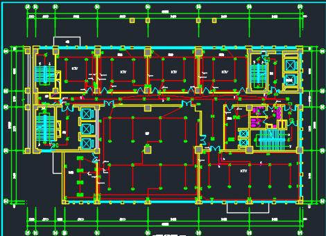 二十六层商业综合楼全套电气施工图