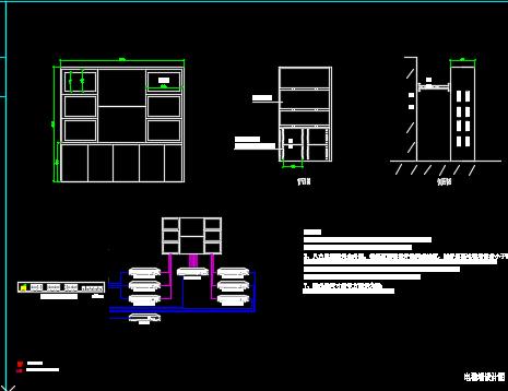 智能弱电系统图纸