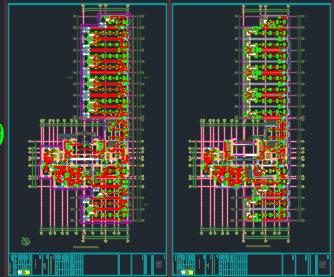 三十二层住宅楼电气澳门永利官方平台图(含幼儿园及地下车库)