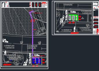 大型住宅售楼处机电设备施工图