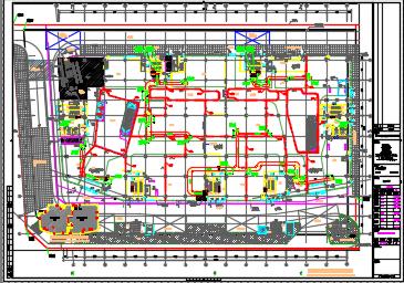 某七层商业综合楼暖通空调设计图纸