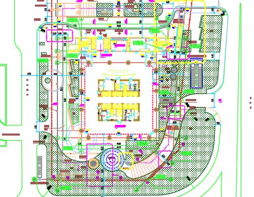 超高层办公楼建筑、给排水、电气澳门永利官方平台澳门永利集团(含PDF)