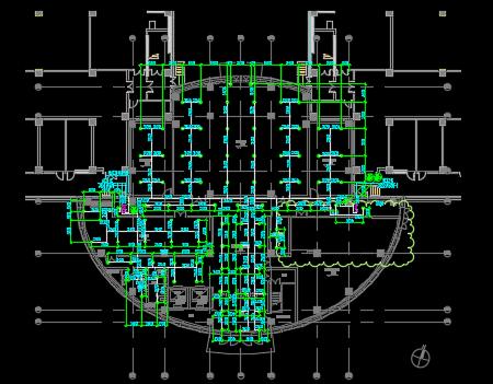 某技术中心给排水全套施工图纸