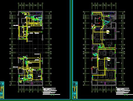 多层住宅楼电气设计图纸