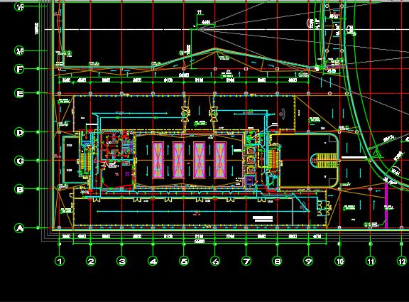 某数据中心、宿舍楼电气施工图纸