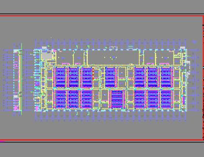 大型厂房电气施工图纸