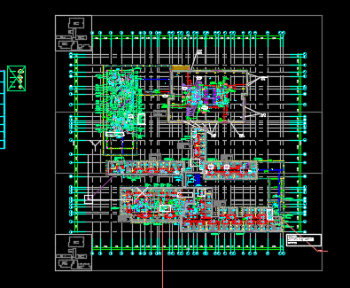 某大型商业综合体暖通设计澳门永利集团(含地下室、除湿热泵)