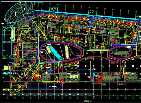 中央广场超高层商业综合体电气施工图纸