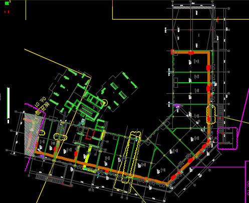 大型住宅小区给排水、电气、暖通施工图纸(含配套商业楼)