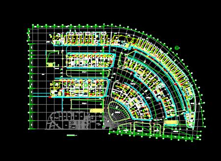 商业综合楼电气施工图纸
