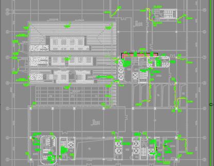 金融大厦给排水施工图纸(含消防)