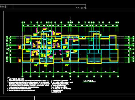 住宅小区及配套商业楼全套施工图纸(建筑、结构、水电暖)