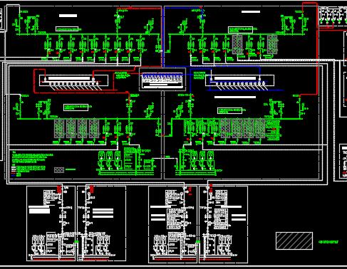 研发中心电气施工图纸