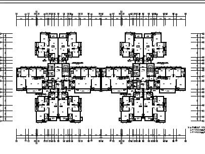 小区住宅楼电气施工图纸(PDF格式)