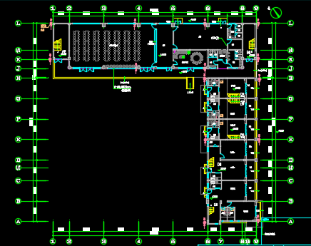 综合楼电气施工图纸